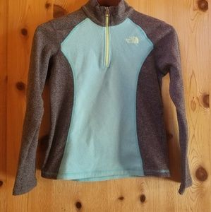 Girls North Face pull over size 10/12